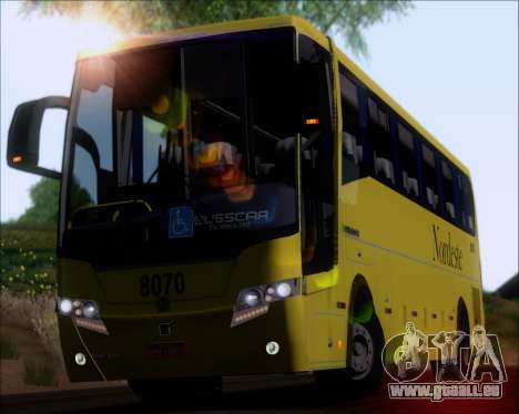 Busscar Elegance 360 Viacao Nordeste 8070 pour GTA San Andreas vue arrière