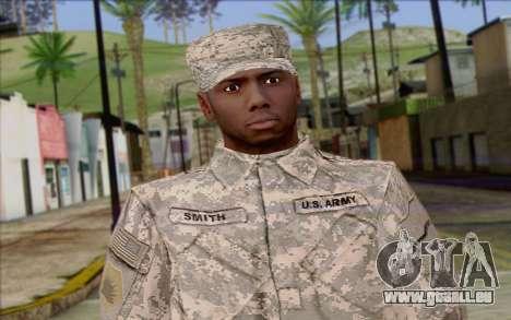 California National Guard Skin 5 pour GTA San Andreas troisième écran
