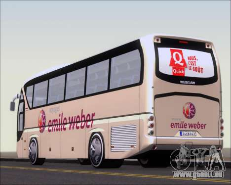 Neoplan Tourliner Emile Weber pour GTA San Andreas salon