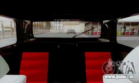 Volkswagen Golf 2 GTi für GTA San Andreas Rückansicht