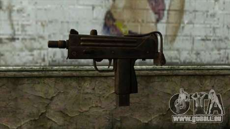 TheCrazyGamer Mac 10 pour GTA San Andreas