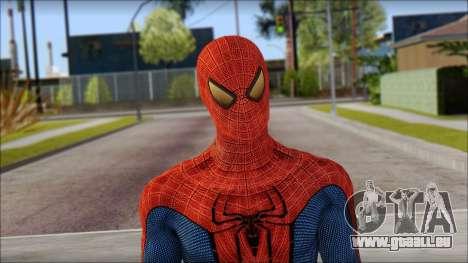 Standart Spider Man pour GTA San Andreas troisième écran