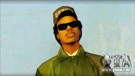 Eazy-E Green Skin v1 pour GTA San Andreas troisième écran