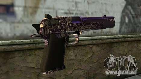PurpleX Desert Eagle pour GTA San Andreas deuxième écran