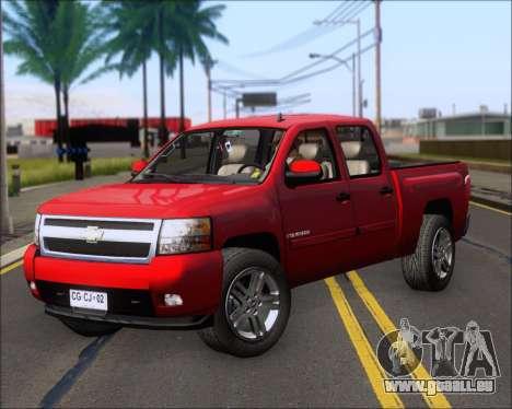 Chevrolet Silverado 2011 für GTA San Andreas linke Ansicht