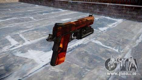 Pistolet Kimber 1911 Bacon pour GTA 4 secondes d'écran