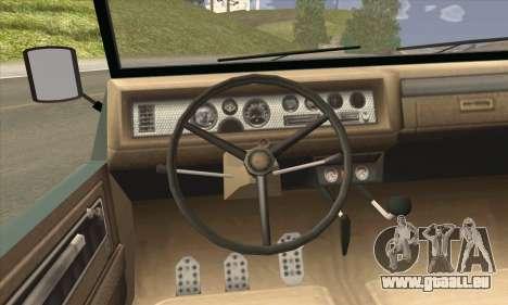 GTA V Canis Kalahari pour GTA San Andreas sur la vue arrière gauche
