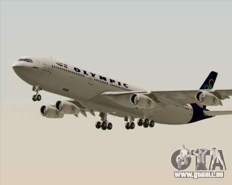 Airbus A340-313 Olympic Airlines pour GTA San Andreas moteur