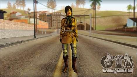 Tomb Raider Skin 2 2013 pour GTA San Andreas