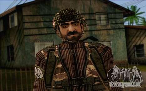 Les soldats de la MEK (Battlefield 2) de la Peau pour GTA San Andreas troisième écran