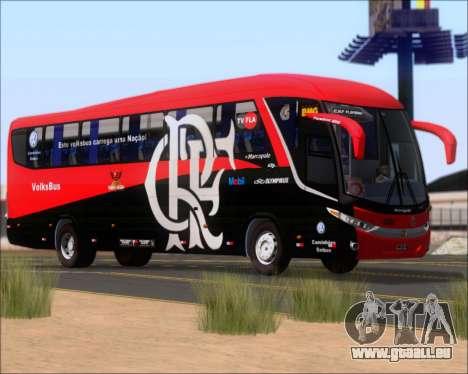 Marcopolo Paradiso 1200 G7 4X2 C.R.F Flamengo pour GTA San Andreas vue de dessous