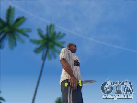 Dive pour GTA San Andreas deuxième écran