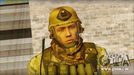 USA Soldier v1 pour GTA San Andreas troisième écran