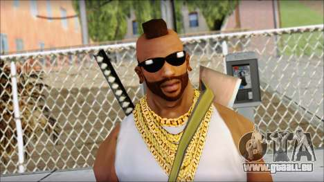 MR T Skin v10 für GTA San Andreas dritten Screenshot