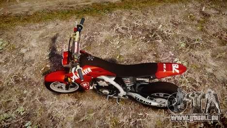 Yamaha YZF-450 SuperMoto Custom pour GTA 4 est un droit