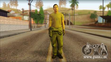 GTA 5 Soldier v1 pour GTA San Andreas