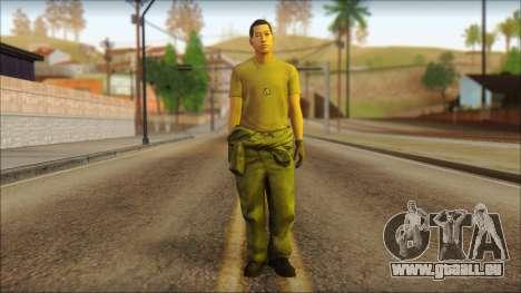 GTA 5 Soldier v1 für GTA San Andreas
