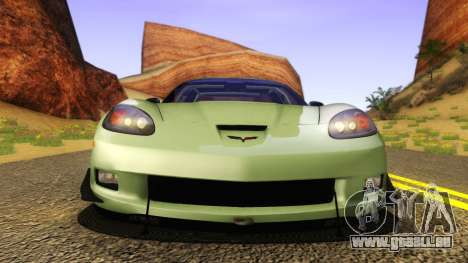 Chevrolet Corvette Z06 2006 Drift Version für GTA San Andreas rechten Ansicht