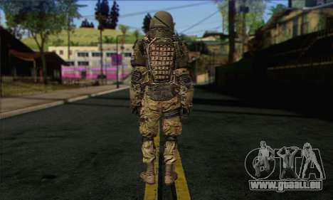 Task Force 141 (CoD: MW 2) Skin 9 pour GTA San Andreas deuxième écran