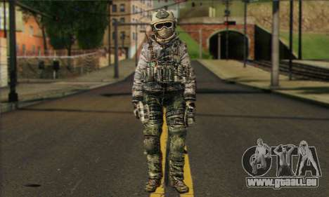 Task Force 141 (CoD: MW 2) Skin 1 pour GTA San Andreas