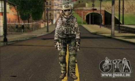 Task Force 141 (CoD: MW 2) Skin 1 für GTA San Andreas