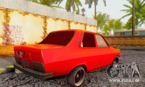 Dacia 1300 Tuned pour GTA San Andreas sur la vue arrière gauche