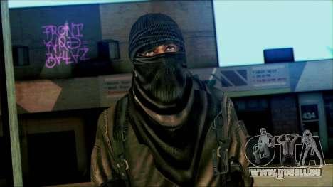 Les soldats aéroportés (CoD: MW2) v6 pour GTA San Andreas troisième écran