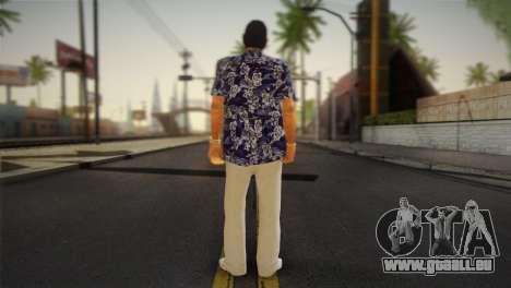 Vice City Style Ped pour GTA San Andreas deuxième écran