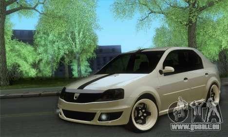 Dacia Logan 1.6 Street für GTA San Andreas