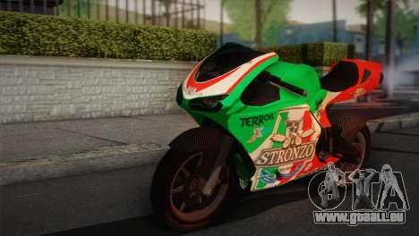 Bati RR 801 Stronzo für GTA San Andreas