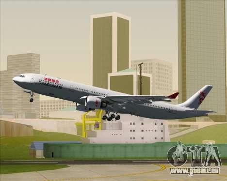 Airbus A330-300 Dragonair für GTA San Andreas Räder