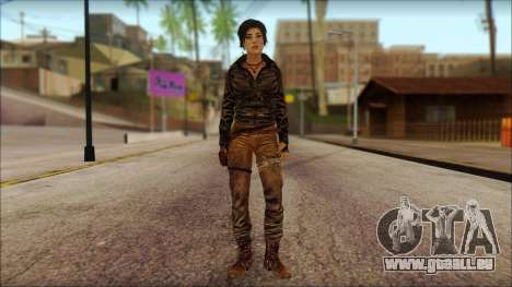 Tomb Raider Skin 6 2013 für GTA San Andreas