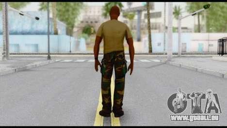 Army Vic pour GTA San Andreas deuxième écran