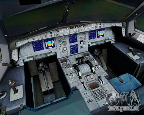 Airbus A330-300 Philippine Airlines pour GTA San Andreas salon
