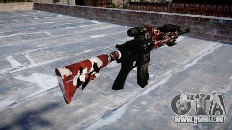 Fusil automatique Colt M4A1 sont injectés de san pour GTA 4 secondes d'écran