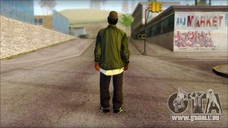 Eazy-E Green Skin v1 pour GTA San Andreas deuxième écran