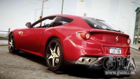 Ferrari FF 2011 v1.5 pour GTA 4 est une gauche
