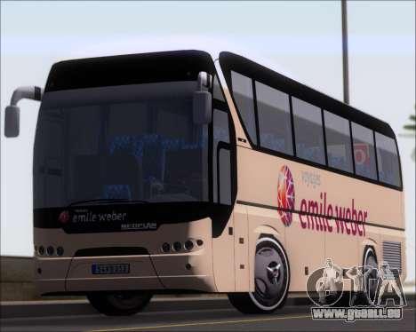 Neoplan Tourliner Emile Weber pour GTA San Andreas vue de dessous