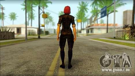 Mass Effect Anna Skin v8 für GTA San Andreas zweiten Screenshot
