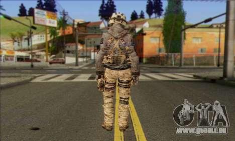 Task Force 141 (CoD: MW 2) Skin 13 pour GTA San Andreas deuxième écran