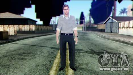Shaun from Assassins Creed pour GTA San Andreas