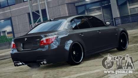 BMW M5 E60 v1 pour GTA 4 est une gauche