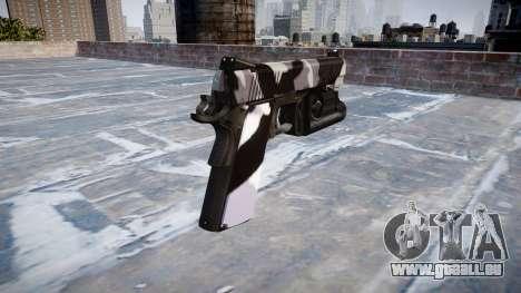 Pistolet Kimber 1911 Sibérie pour GTA 4 secondes d'écran