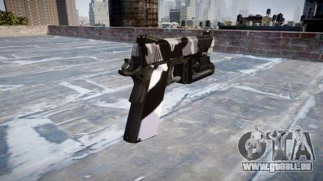 Gun Kimber 1911 Sibirien für GTA 4 Sekunden Bildschirm