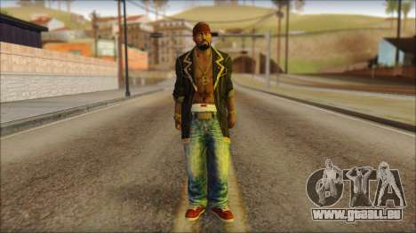 New Grove Street Family Skin v1 für GTA San Andreas