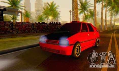 Dacia Super Nova Tuning pour GTA San Andreas laissé vue