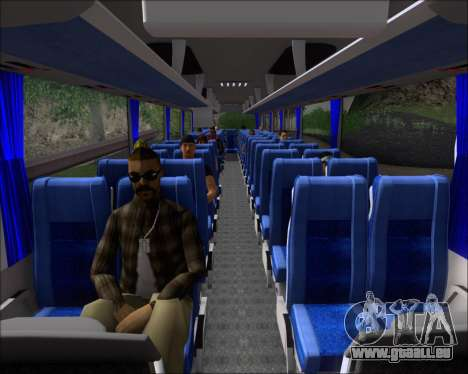 MAN Lion Coach Rural Tours 2790 für GTA San Andreas Innen