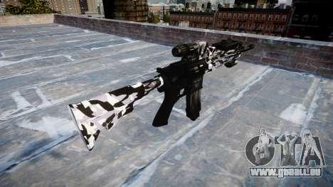 Fusil automatique Colt M4A1 sibérie pour GTA 4 secondes d'écran