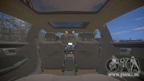 Mercedes-Benz E63 AMG для GTA 4 pour GTA 4 est un côté