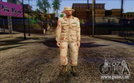 California National Guard Skin 1 pour GTA San Andreas